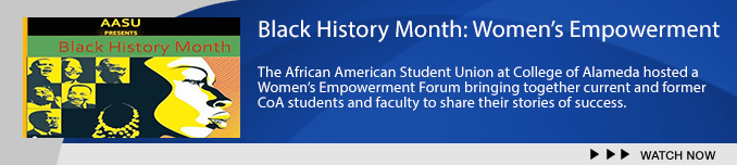 Banner for Black History Month