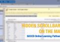 Mac users: Show scrollbars