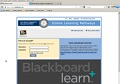 Structure and Navigation of a Typical Blackboard Course