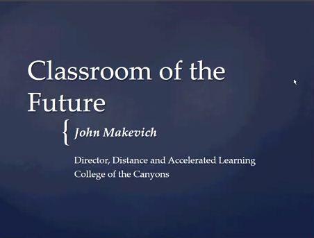 OTC13: Classroom of the Future