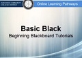 Basic Black – Adding Content to Blackboard