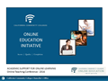 OEI (Online Education Initiative) - Academic Support for Online Learning
