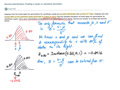 Example: Normal distribution, finding a mean or standard deviation