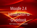 Moodle Extra Credit