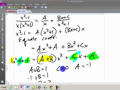 Math 141 8.5C Partial fraction decomposition using the Heavyside method