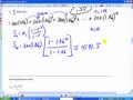 Math 141 9.3D Infinite geometric series