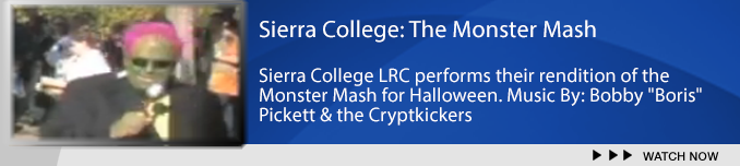 Sierra College presents the Monster Mash