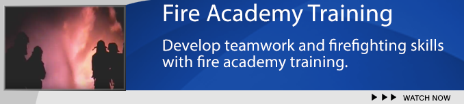 Fire Academy Training Banner