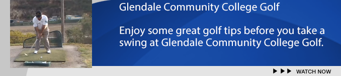 Banner: Glendale Community College Golf