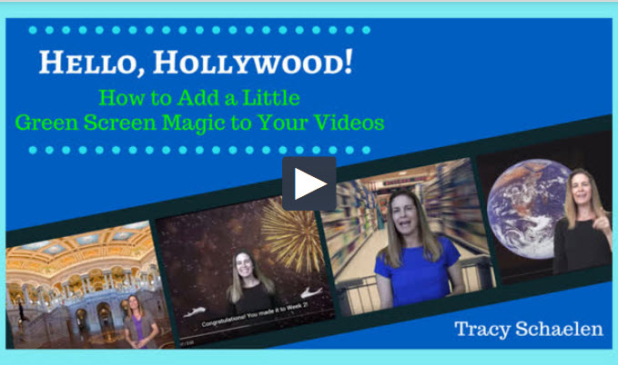 Hello, Hollywood! How to Add a Little Green Screen Magic to Your Videos