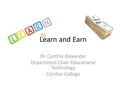 OTC13: Learn and Earn