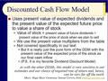 Chapter 06 - Slides 35-57 - Discounted Cash Flow Model, The Value Line