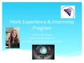 FLC WEXP/Internship Program