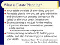 Chapter 14 - Slides 37-62 ‑ Estate Planning; Dealing with a Windfall - Summer 2016